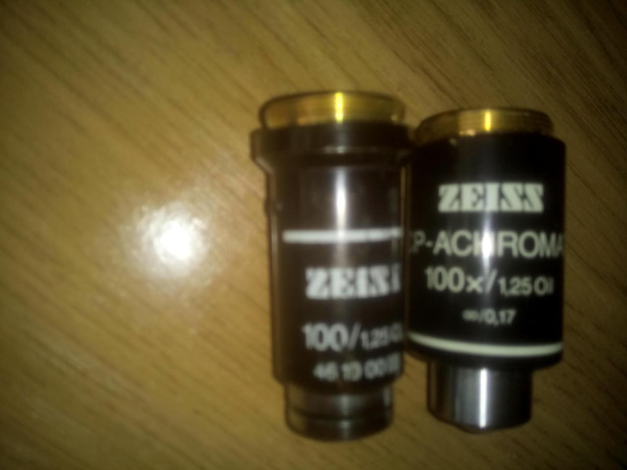 Объективы  carl zeiss(Германия ) к микроскопам  наличие по списку