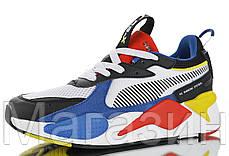 Мужские кроссовки Puma RS-X Toys White / Royal Пума белые с синим, фото 3