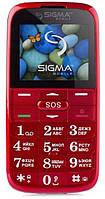 Мобильный телефон Sigma Comfort 50 Slim 2 Red Гарантия 12 месяцев