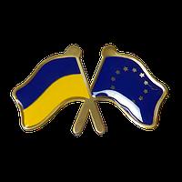 Значок Украина-Евросоюз