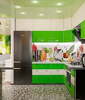 Кухня Лайм - Современные кухни под заказ,  мебель по индивидуальному проекту