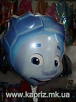 Шар  Нолик ( Фиксики),наполненный  гелием