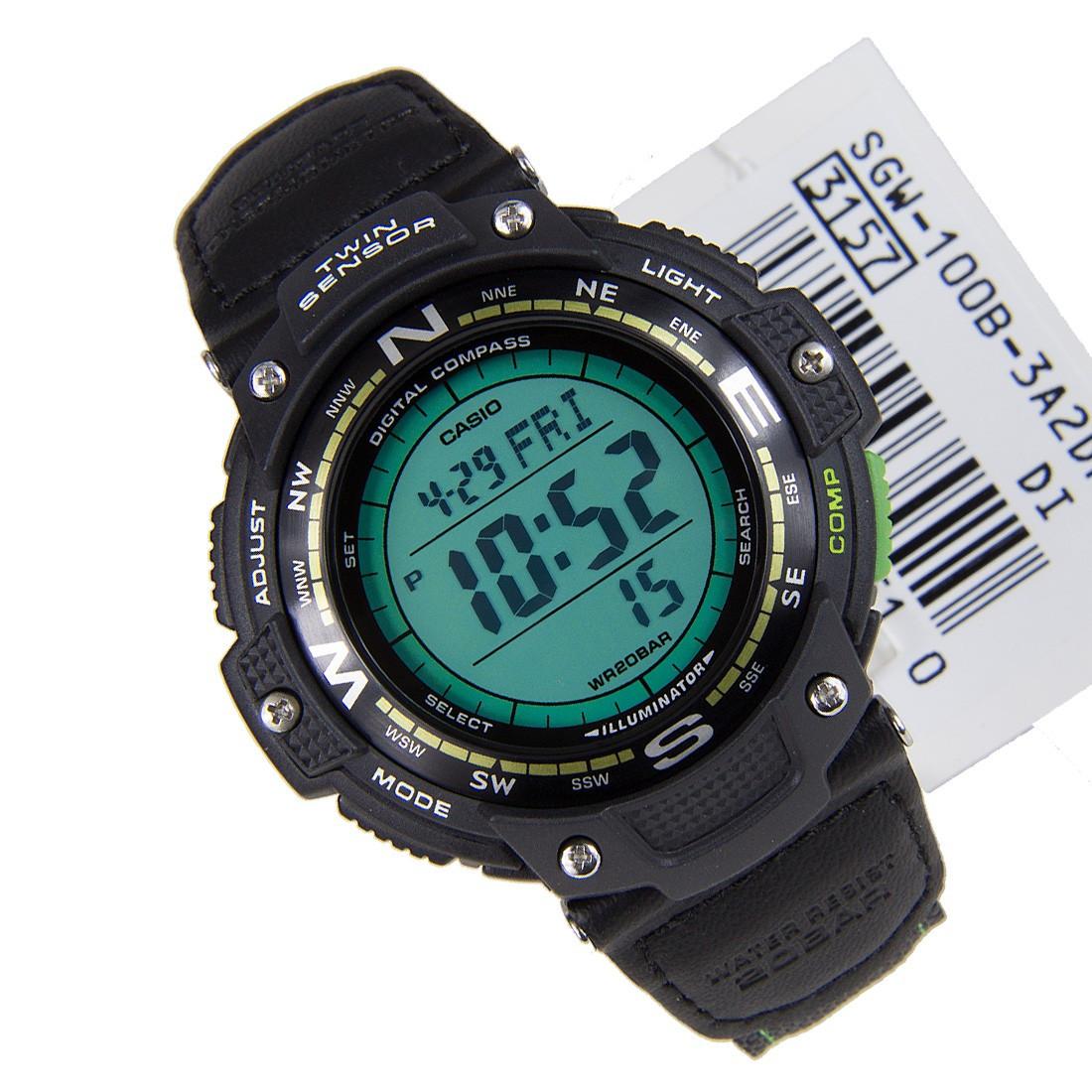 Часы Casio SGW-100B-3A2