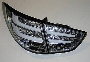 Hyundai  IX35 оптика задняя хром 50% LED