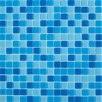 Мозаика стеклянная 2х2см микс MDA 332