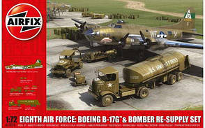 Boeing B-17G™ & Bomber Re-supply Set . 1/72 AIRFIX 12010