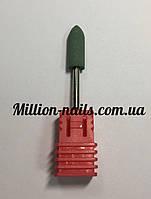 Насадка для фрезера корундовая,пуля (зеленая)