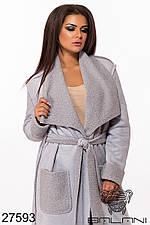 Батальное пальто  демисезонное женское 27593 (2 расцветки ) с 48 по 62 размер (бн)