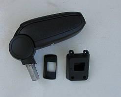 Nissan Tiida подлокотник ASP черный виниловый