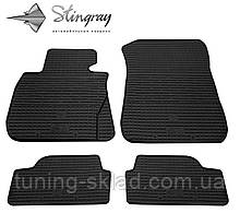 Гумові килимки BMW 1 (E81) 2004-2012 (БМВ 1) кількість 4 штуки