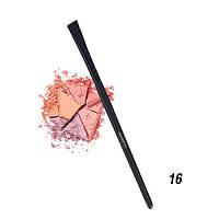 """Кисть для нанесения теней в уголках глаз и создания тонких четких линий """"Parisa Cosmetics"""" P-16"""