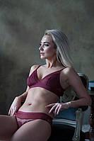 Комплект кружевного женского нижнего белья Nakedlady Оникс