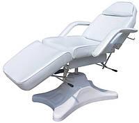 Кушетка косметологическая, кресло для косметологии на гидравлике CH-234 white