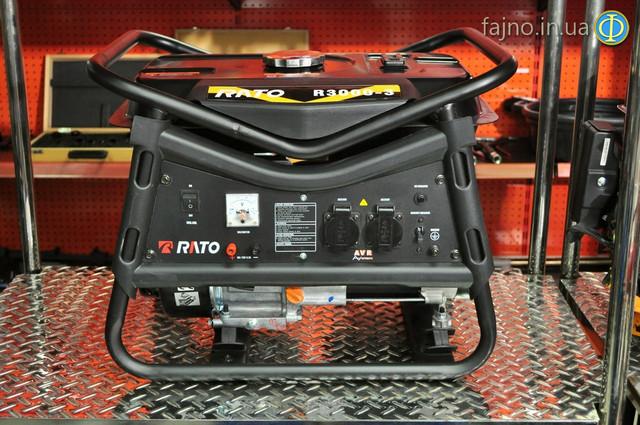 Бензиновая электростанция 3 квт Rato R3000 фото 8