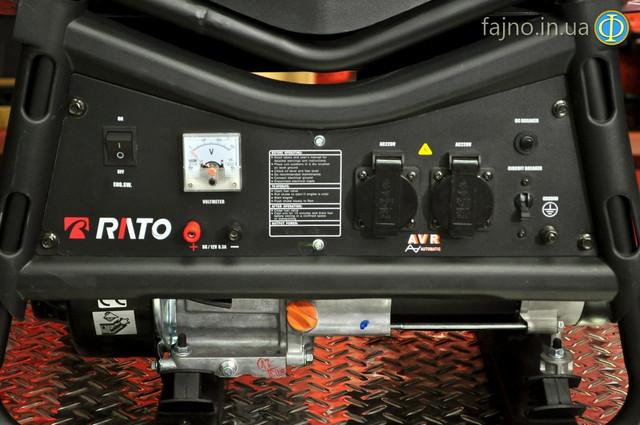 Бензиновая электростанция 3 квт Rato R3000 фото 5