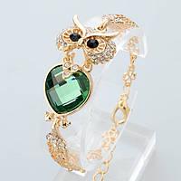 Изумительный браслет Сова Green