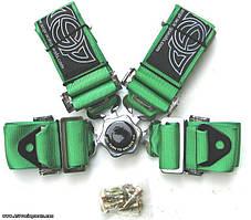 """Ремень безопасности 3"""" ASP, зеленый"""