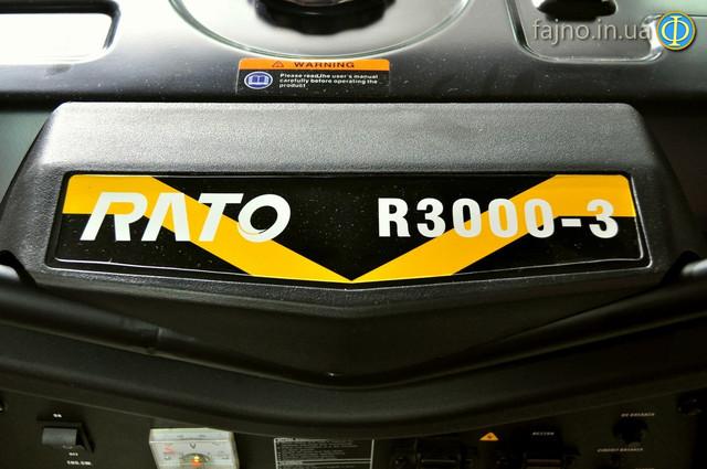 Бензиновая электростанция 3 квт Rato R3000 фото 3