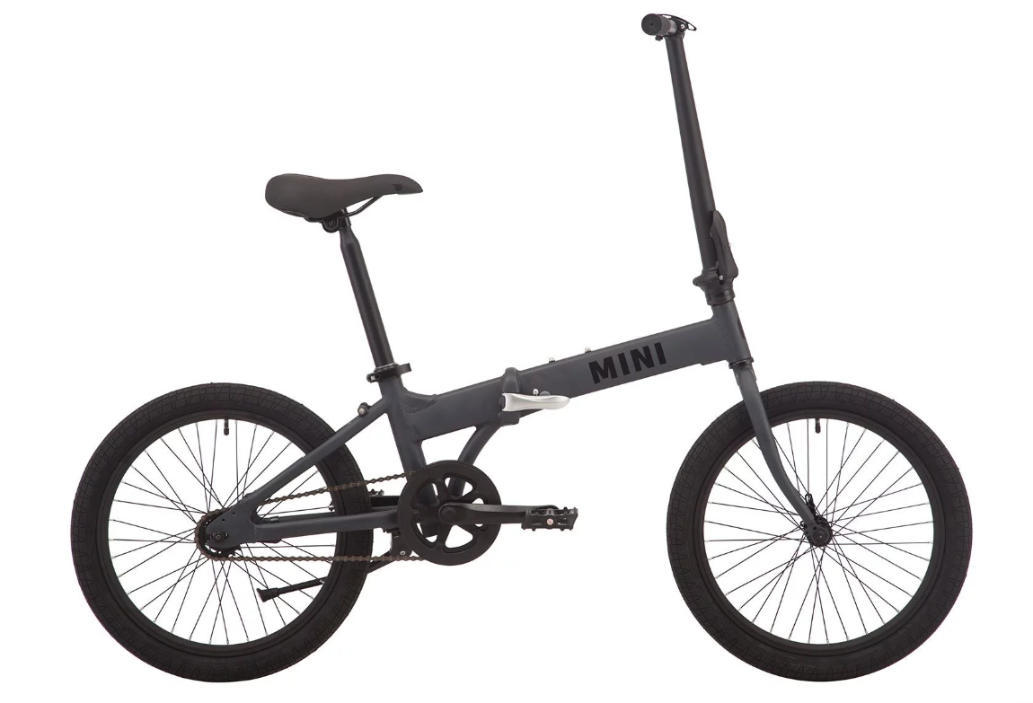"Велосипед PRIDE MINI 1 20"" 2019 серый"