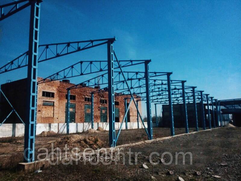 Ангар 24х30х9 склад, цех, металоконструкцыя, Висота 9м. 720кв.м.