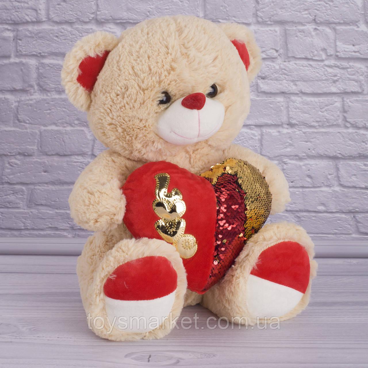 Мягкая игрушка Мишка Влюбленный