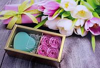 Подарочный набор мыла из лепестков роз 4+1