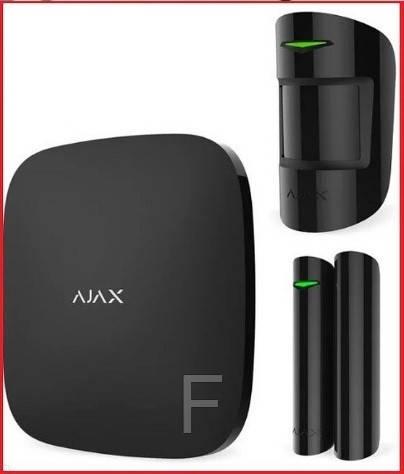 Комплект беспроводной сигнализации для офиса Ajax Original (Black)