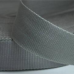 ЛЕНТА РР (полипропилен) 20 мм серый. Цена за 1 м