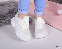 Женские кроссовки на толстой  подошве, фото 1