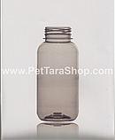 Пляшка ПЕТ Тара Флакон Банку Прозора 250 мл з кришкою, фото 3