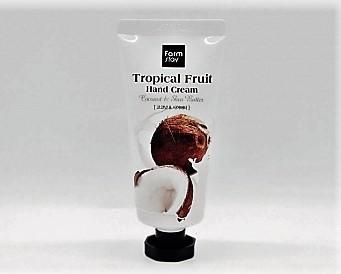 Крем для рук с кокосом и маслом ши FarmStay Tropical Fruit Hand Cream Coconut & Shea Butter