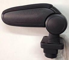 Skoda Fabia Mk1 подлокотник ASP черный тканевый