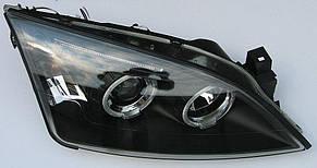 Ford Mondeo 3 оптика передняя черная