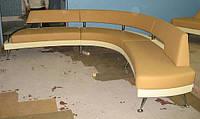 С образный диван для кафе, баров, кофеен, пабов, фаст-фудов под заказ от производителя,