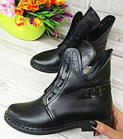 Женские ботинки на шнурках от производителя