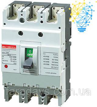 Шафовий автоматичний вимикач 3р, 40А (e.industrial.ukm.100S.40)