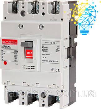 Шафовий автоматичний вимикач 3р, 250А (e.industrial.ukm.250S.250)