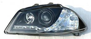 Seat Ibiza оптика передняя черная