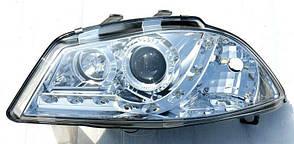 Seat Ibiza оптика передняя хром
