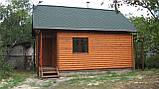 Дачний будиночок 6м х 8 м з вбудованою терасою, фото 4