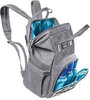 Сумка-рюкзак для мами Zupo Crafts + пеленальний матрацик