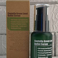 Purito Centella Green Level Buffet Serum супер состав профилактика купероза