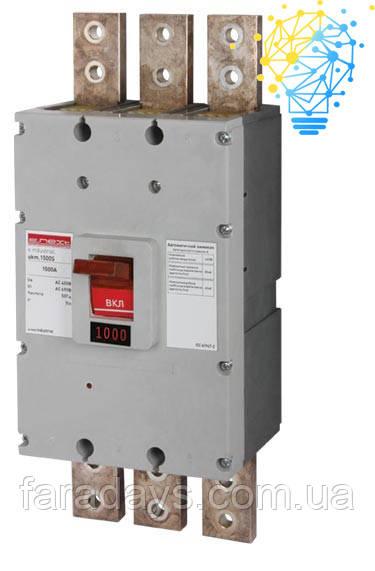 Шафовий автоматичний вимикач 3р, 1000А (e.industrial.ukm.1000S.1000)