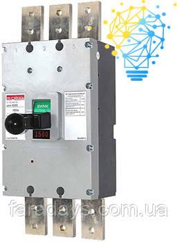 Шафовий автоматичний вимикач 3р, 1500А (e.industrial.ukm.1500S.1500)