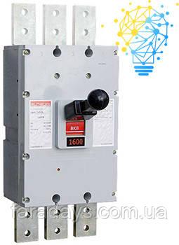 Шафовий автоматичний вимикач 3р, 1600А (e.industrial.ukm.1600S.1600)