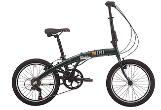 "Велосипед PRIDE MINI 6 20"" 2019 зеленый"