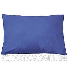 Наволочка поплиновая из 100% хлопка Blue 50х70 см