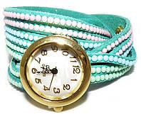 Часы с наматывающимся ремешком