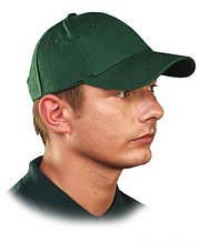 Кепка Люкс, 6-панельная, зеленая