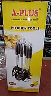 Набор кухонных предметов на стойке A-PLUS KT-1450 (7 предметов)